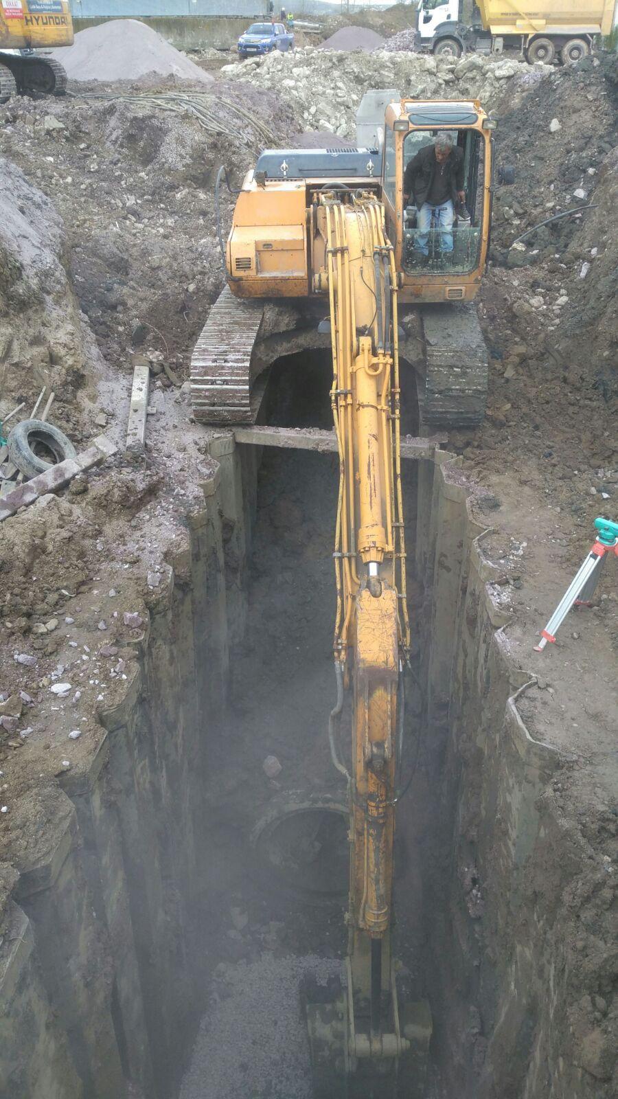 Kullar Arıtma Tesisleri Kanalizasyon Bağlantısı Yapım işi