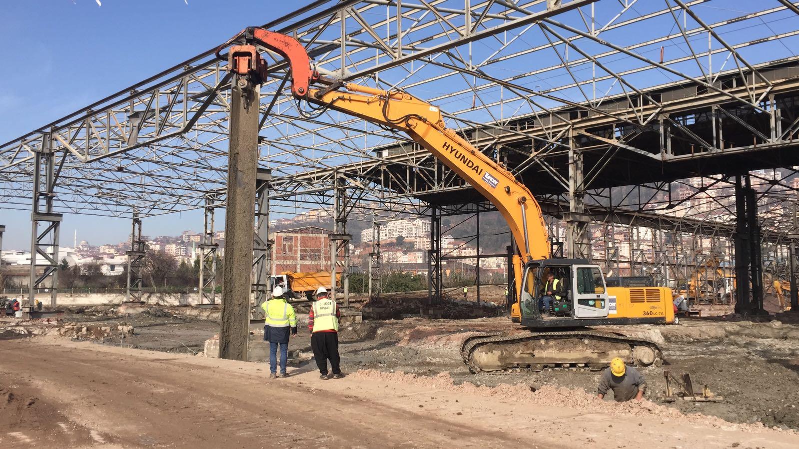 SEKA Park Kongre Merkezi İnşaatı Yapım işi