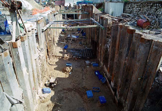 Marmaray BC1 Arkeoloik Kazı Palplanş İmalatları